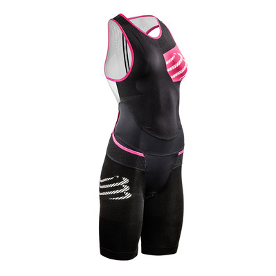 COMPRESSPORT - TR3 AERO - Combinaison trifonction Femme black