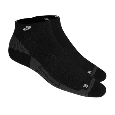 ASICS - ROAD QUARTER - Chaussettes performance black/mid grey