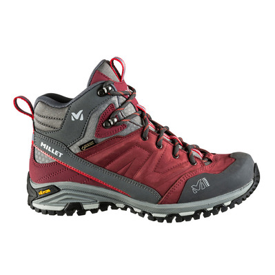 MILLET - HIKE UP MID GTX - Hiking Shoes - Women's - burgundy