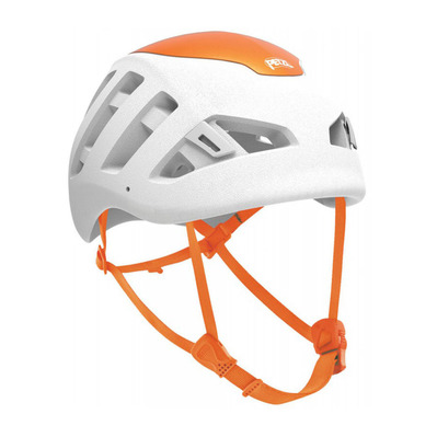 PETZL - SIROCCO - Casque blanc/orange