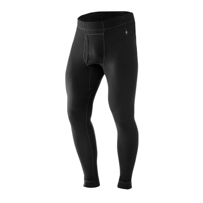 SMARTWOOL - MERINO 250 BOTTOM - Mallas hombre black