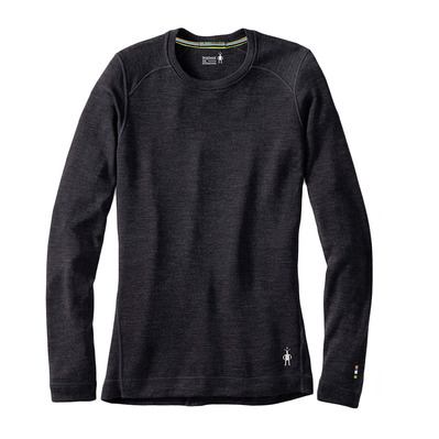 SMARTWOOL - MERINO 250 CREW - Baselayer Frauen charcoal heather