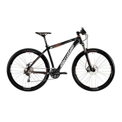 "VTT semi-rigide 29"" X-VERT 0.3 SPORT matt black/orange/white"
