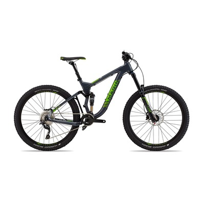 "BTT doble suspensión 27.5"" ATTACK TRAIL 7 gris/verde"