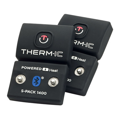 THERM-IC - S-PACK 1400B - Batterie x2 black