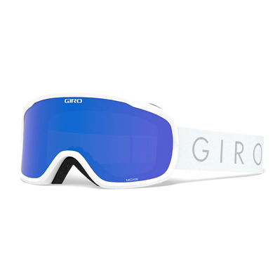 GIRO - MOXIE - Schneebrille Frauen white core light grey cobalt