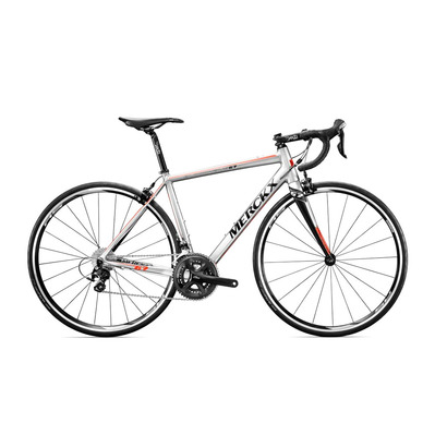 Bicicleta de carretera BLOCKHAUS 67 105 silver/black/red