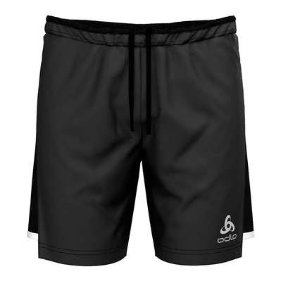 ODLO - ZEROWEIGHT CERAMICOOL LIGHT - 2 in 1 Shorts - Men's - black/black