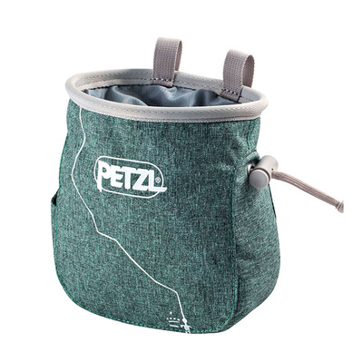 PETZL - SAKA - Chalk Bag - green