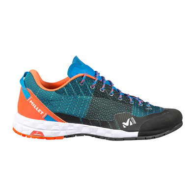 MILLET - AMURI - Chaussures approche Homme electric blue/orange