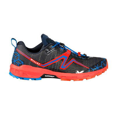 MILLET - LIGHT RUSH - Chaussures trail Homme orange/electric blue