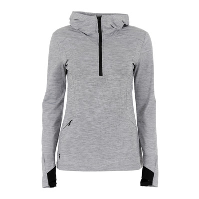 PEAK PERFORMANCE - CIVIL - Sweat Femme med grey melange