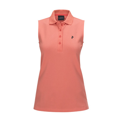 PEAK PERFORMANCE - CL PIQUE - Polo mujer digital pink