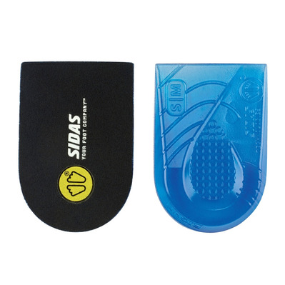 SIDAS - Pair of Heel Gel Pads - BONE SPUR PAD black/blue