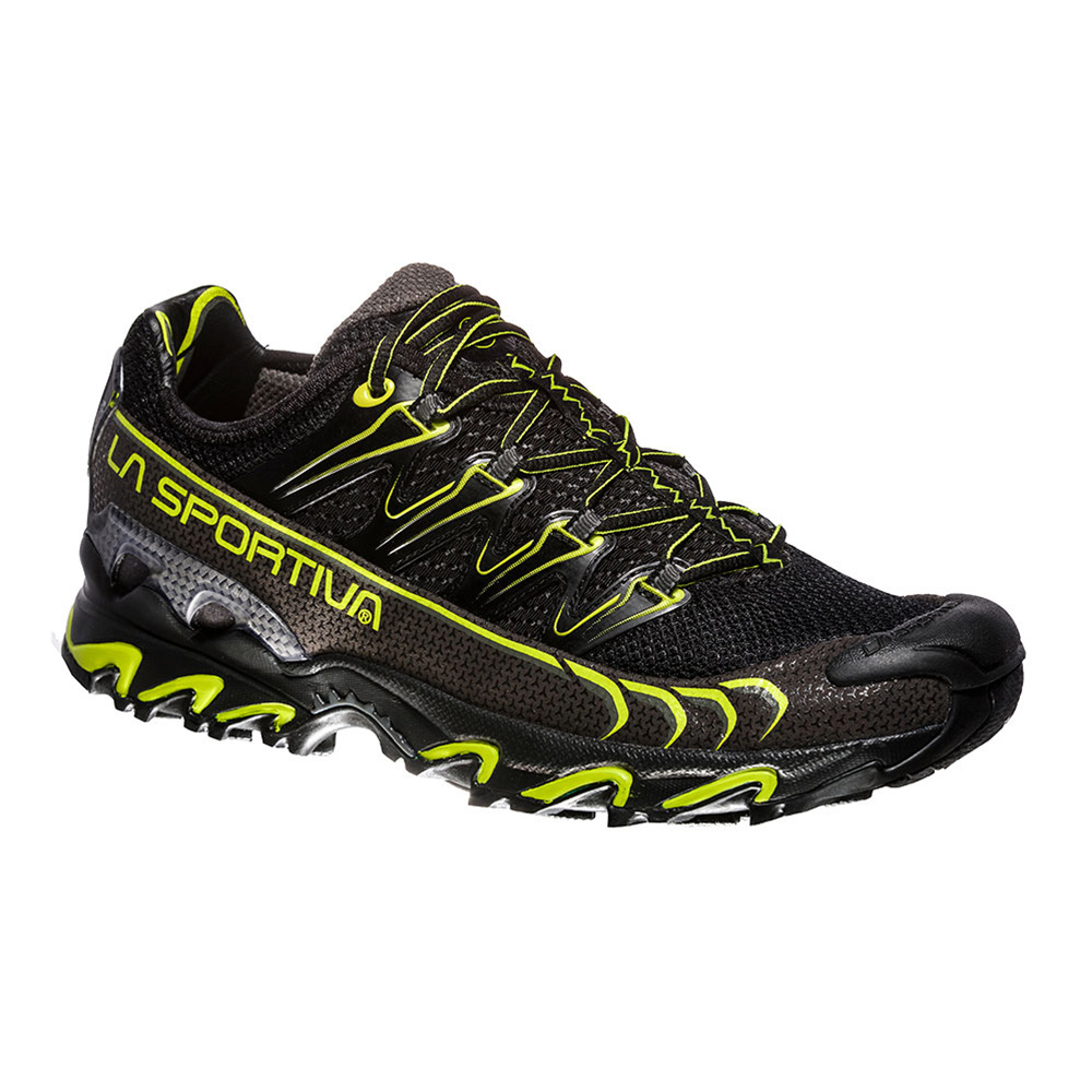 LA SPORTIVA - La Sportiva ULTRA RAPTOR - Chaussures trail Homme black/apple green