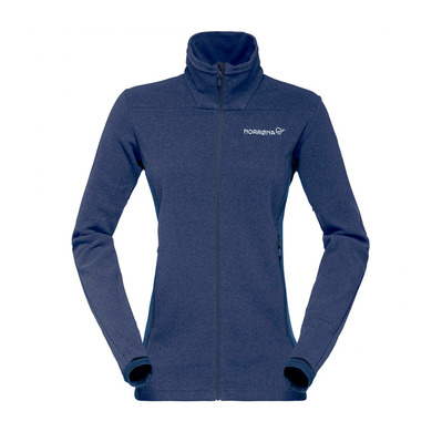 NORRONA - Fleece - Women's - FALKETIND WARM1 indigo night