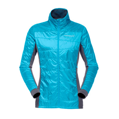 NORRONA - Polartec® Down Jacket - Women's - FALKETIND ALPHA60 blue moon