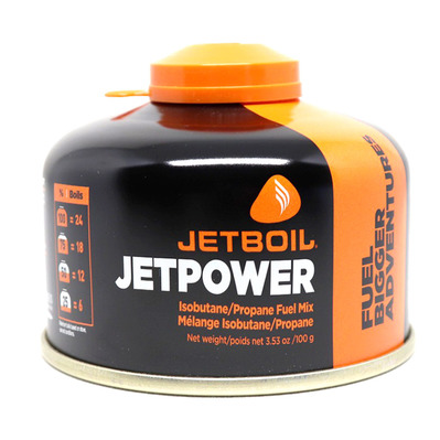 JETBOIL - Cartridge for Gas Stove - 100g JETPOWER