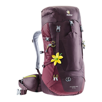 DEUTER - FUTURA PRO 34L - Backpack - Women's - aubergine/brown