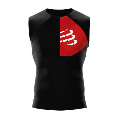 COMPRESSPORT - TRIATHLON POSTURAL - Jersey - Men's - black