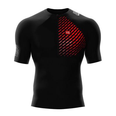 COMPRESSPORT - TRAIL RUNNING POSTURAL - Jersey - Men's - black