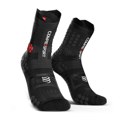 COMPRESSPORT - PRORACING V3 TRAIL - Chaussettes black