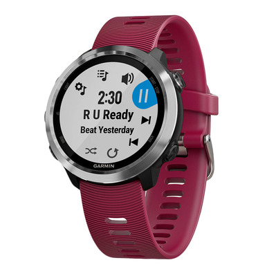GARMIN - FORERUNNER 645 MUSIC - Watch - cherry