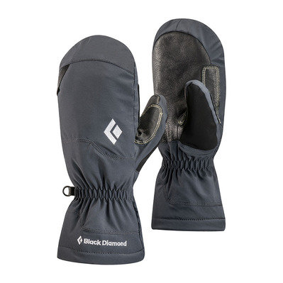 BLACK DIAMOND - GLISSADE - Mittens - black