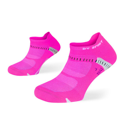 BV SPORT - LIGHTONE ULTRA COURTE - Calcetines pinkies mujer negro/rosa