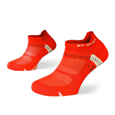 BV SPORT - LIGHT ONE ULTRAS - Chaussettes x2 noir/rouge