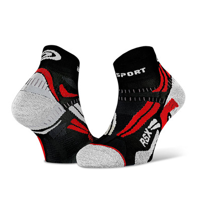 BV SPORT - RSX EVO - Socks - black/red