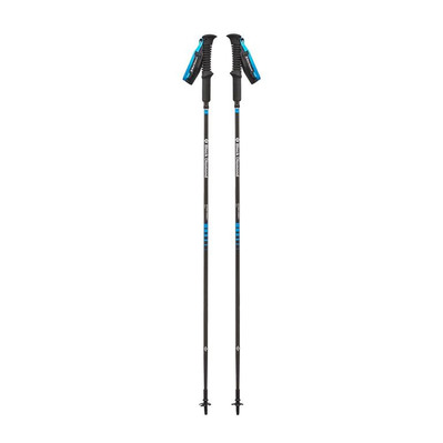 BLACK DIAMOND - DISTANCE CARBON Z - Bâtons randonnée black/blue