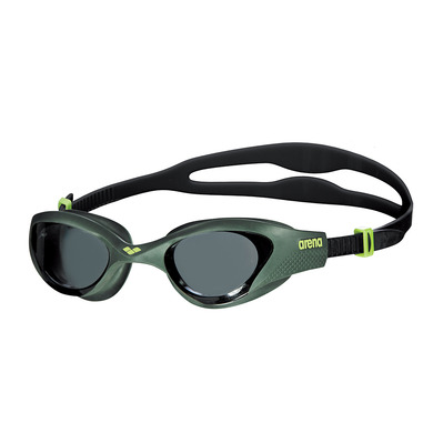ARENA - THE ONE - Gafas de natación smoke deep green/black