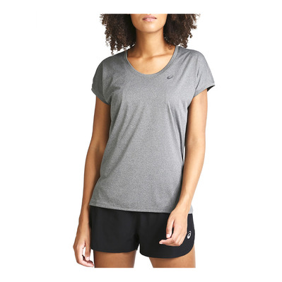 ASICS - CAPSLEEVE - Jersey - Women's - dark grey heather