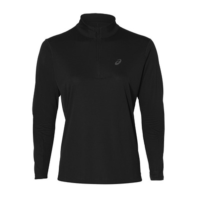 ASICS - SILVER 1/2 ZIP - Maillot Femme performance black
