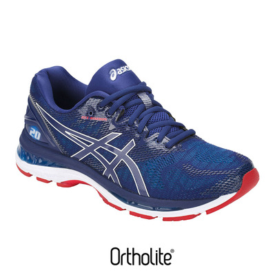 ASICS - Running Shoes - Men's - GEL-NIMBUS 20 blue print/race blue