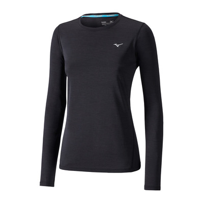 MIZUNO - IMPULSE CORE - Camiseta mujer black