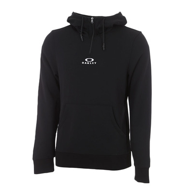 OAKLEY - BARK HALF ZIP - Sweat Homme blackout