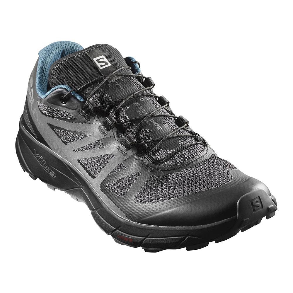 Salomon SENSE RIDE NOCTURNE Chaussures trail Homme bl