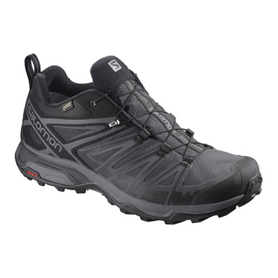 SALOMON - X ULTRA 3 GTX - Hiking Shoes - Men's - bk/magnet/quiet sha