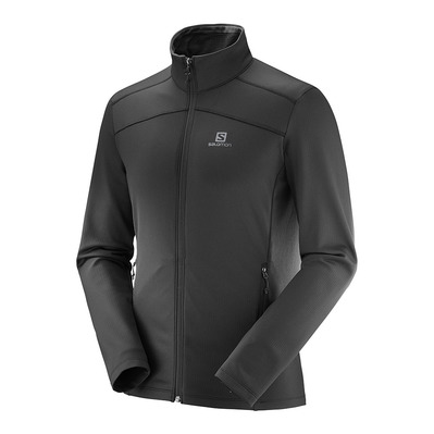 SALOMON - DISCOVERY - Fleece - Men's - black
