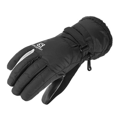 SALOMON - FORCE DRY - Gants Femme black/white