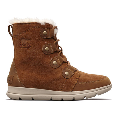 SOREL - EXPLORER JOAN - Zapatillas mujer camel brown, ancient fossil