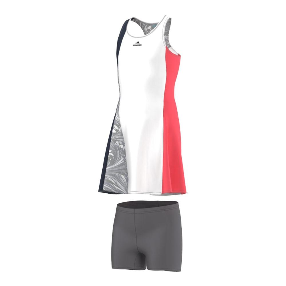 Círculo de rodamiento Contradicción Competencia  ADIDAS TENNIS Dress - Girl's - DRESS white/navy/flash red - Private Sport  Shop