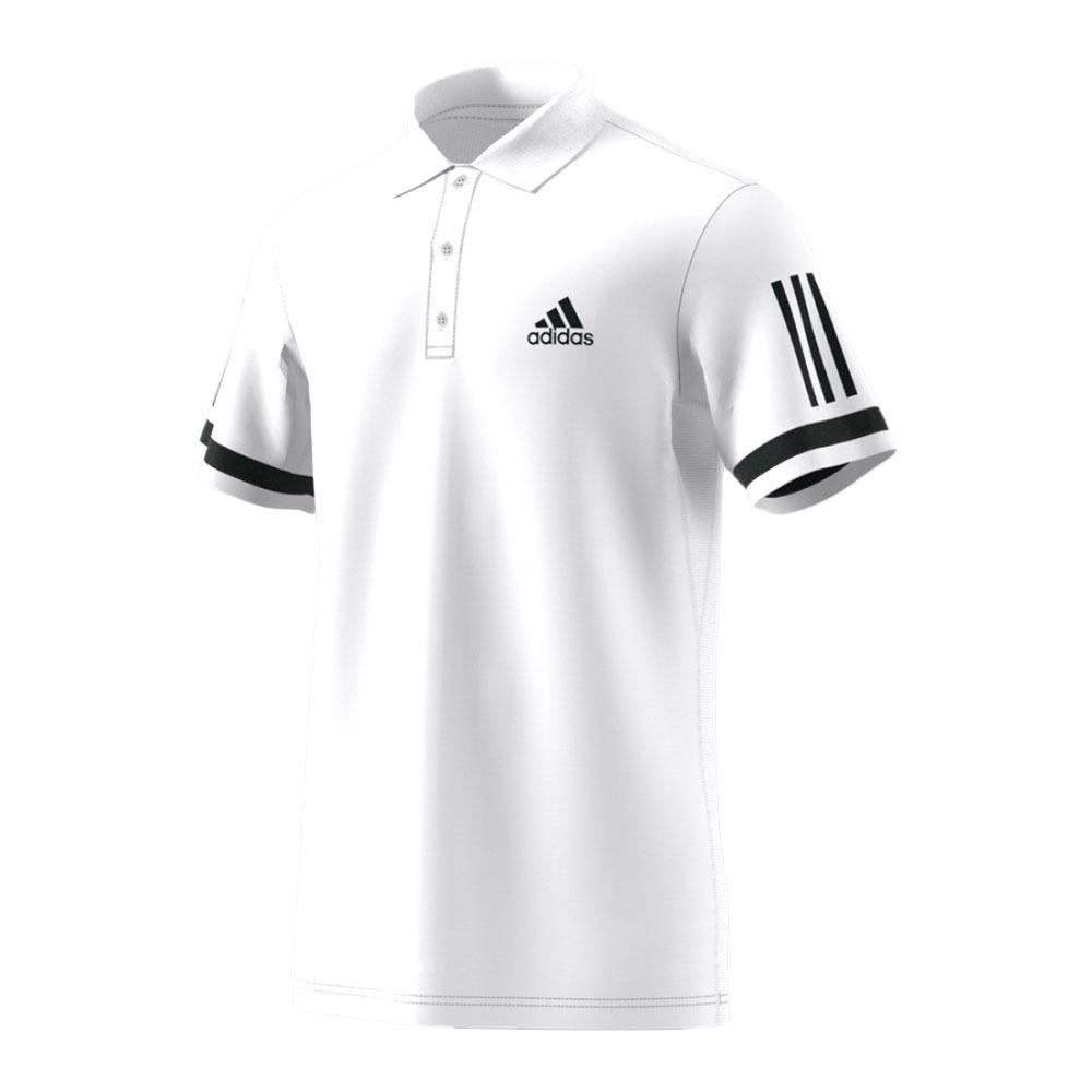 ADIDAS TENNIS Polo MC homme CLUB white Private Sport Shop