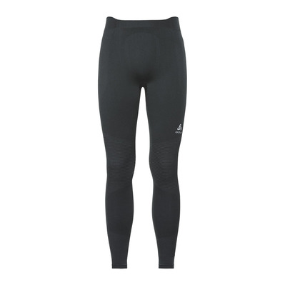 ODLO - PERFORMANCE WARM - Mallas hombre black/odlo concrete grey