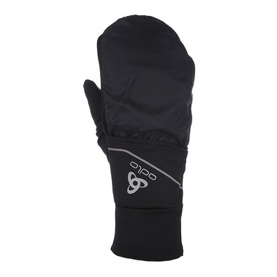 ODLO - INTENSITY COVER SAFETY LIGHT - 2 in 1 Gloves - black