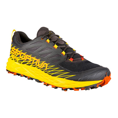 LA SPORTIVA - LYCAN GTX - Chaussures trail Homme black/yellow