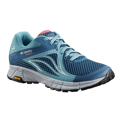 COLUMBIA - MOJAVE TRAIL II OUTDRY - Chaussures trail Femme phoenix blue sunset red