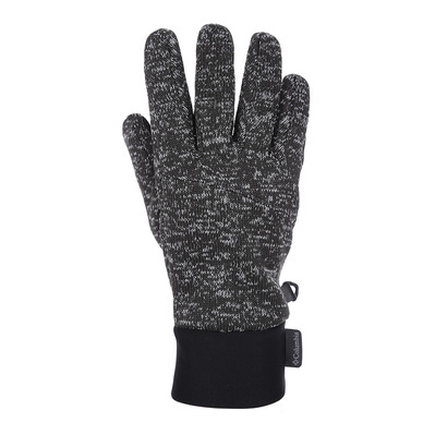 COLUMBIA - BIRCH WOODS - Guantes hombre shark black